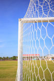 Soccer Goal. Ready for Match Stock Photography