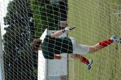Soccer goalie Royalty Free Stock Photos