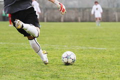 Soccer goalkeeper Stock Photos