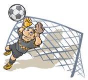 Soccer Goalkeeper. Royalty Free Stock Image