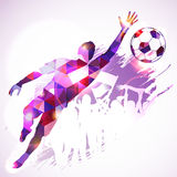 Soccer Goalkeeper Stock Image