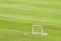 Soccer goals Royalty Free Stock Photos