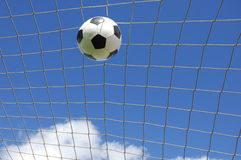 Soccer gool royalty free stock photos