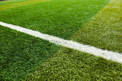 Soccer grass Stock Photo