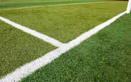 Soccer grass Stock Photography