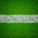 Soccer grass background. Green soccer grass background with white line Royalty Free Stock Image