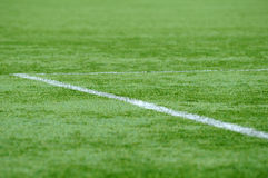 Soccer ground Stock Photography