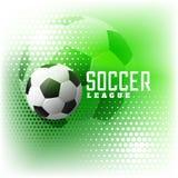 Soccer halftone sports abstract background. Illustration stock illustration