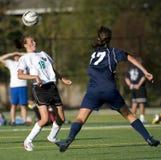 Soccer head shot stock image