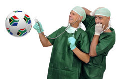 Soccer health Royalty Free Stock Image