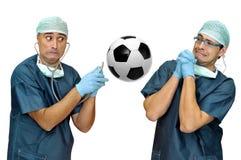 Soccer health Stock Photos