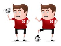 Soccer Hero Royalty Free Stock Images