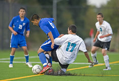 Soccer high school 1 Royalty Free Stock Image