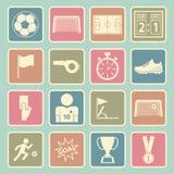 Soccer icon Royalty Free Stock Photos