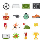 Soccer icon Royalty Free Stock Image
