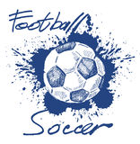 Soccer icon Stock Image