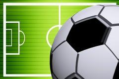 Soccer illustration Stock Photos