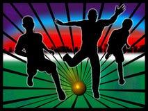 Soccer illustration Stock Image