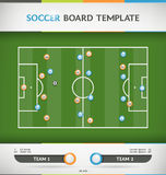 Soccer Infographic Stock Image