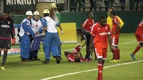 Soccer, Injury, Injured Player, Medical, Health stock video