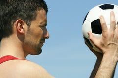 Soccer joke Royalty Free Stock Images