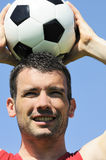 Soccer joke Royalty Free Stock Photos