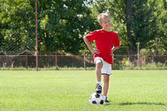 Soccer kid stock images