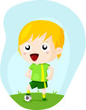 Soccer kid Royalty Free Stock Photo