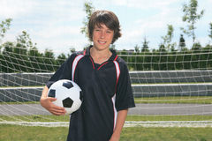 Soccer kid Stock Photography