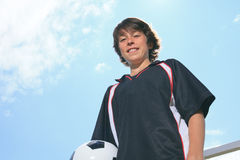Soccer kid Stock Image