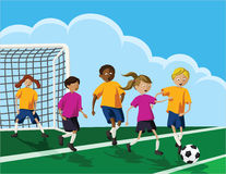 Soccer Kids Stock Images