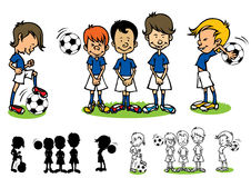 Soccer kids Royalty Free Stock Photography