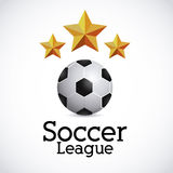 Soccer league Royalty Free Stock Photos