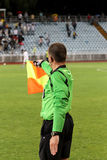 Soccer linesman Royalty Free Stock Images