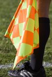 Soccer Linesman Royalty Free Stock Photos