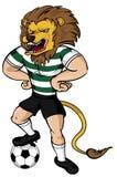 Soccer Lion Mascot