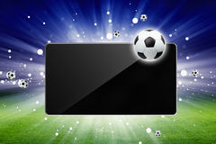 Soccer Live Royalty Free Stock Images