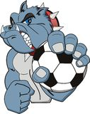 Soccer logo Stock Image