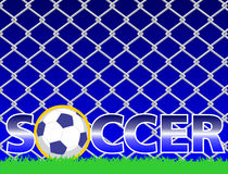 Soccer logo Royalty Free Stock Photo