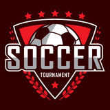 Soccer logo, America logo, Classic logo. Vintage logo, retro badge Stock Images