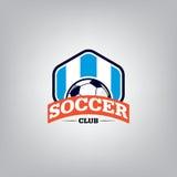 Soccer Logo Design Template . Stock Images
