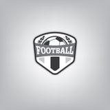 Soccer Logo Design Template , Football badge team identity. Royalty Free Stock Photography