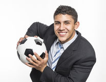 Soccer Manager Stock Photography
