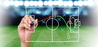 Soccer manager Royalty Free Stock Images