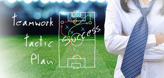Soccer manager Royalty Free Stock Photography