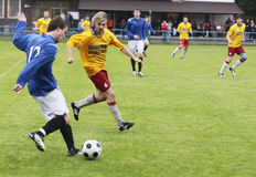Soccer match Stock Images