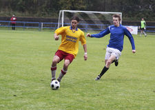 Soccer match Royalty Free Stock Images