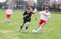 Soccer match Stock Photos