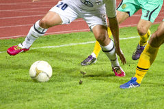 Soccer match Royalty Free Stock Image