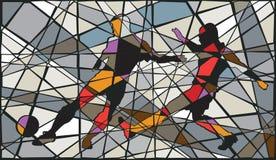 Soccer mosaic Royalty Free Stock Image